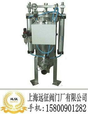 过滤器工作原理:   全自动在线连续过滤,采用双气缸驱动圆盘清洗系统